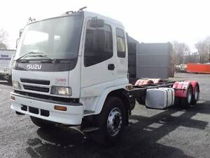 ISUZU FVY1400 CAB CHASSIS LOW376300KMS Armidale City Preview