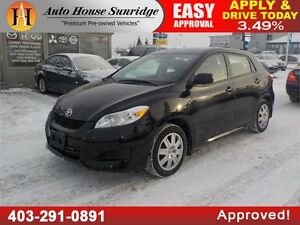 2013 TOYOTA MATRIX AUTOMATIC 90 DAYS NO PAYMENTS