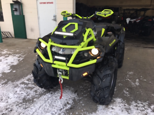 2015 CAN-AM OUTLANDER XMR 1000 WITH TONS OF UPGRADES!!