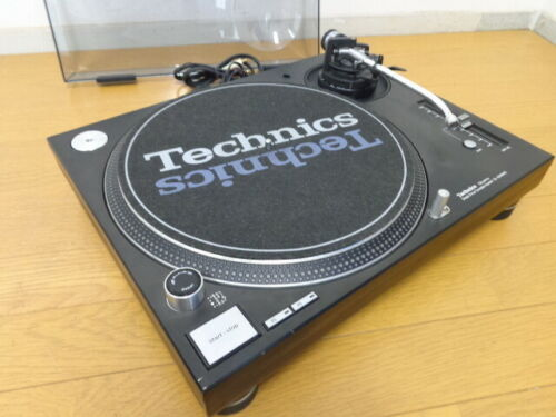 Technics SL-1200MK5 Black Turntable  Direct Drive DJ used F/S