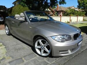 2009 BMW 125i Convertible E88 Essendon Moonee Valley Preview