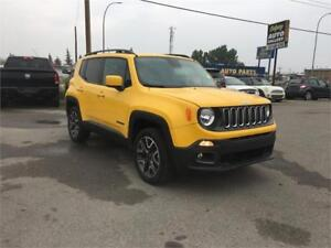 2016 Jeep Renegade North HTD  SEATS AND WHEEL CAMERA AWX BLUETOO