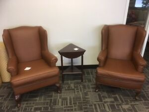 WALPER WING BACK CHAIRS