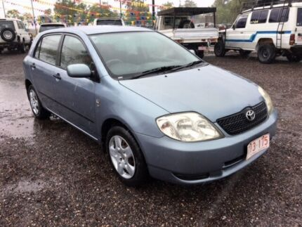 2004 Toyota Corolla Ascent Blue 5 Speed Manual Hatchback