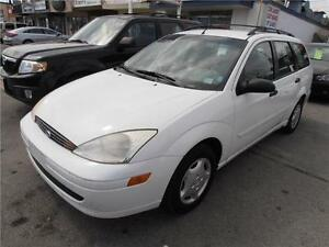 2001 Ford Focus Hatchback SE Auto White ONLY 135,000km