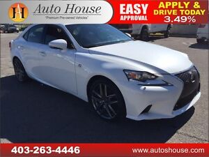 2015 LEXUS IS 250 NAVIGATION BACKUP CAMERA 90 DAYS NO PAYMENT