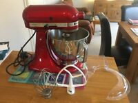 KitchenAid Artisan Stand Mixer Candy Apple Red - Model 5KSM150