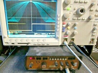 2mhz Sweep Function Generator Dual Output Tested Bk 3017a Sinesqtriangpulse