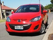 2013 Mazda 2 DE10Y2 MY13 Neo Red 5 Speed Manual Hatchback West Hindmarsh Charles Sturt Area Preview