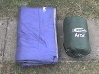 2 Sleeping Bags (A Double Sleeping Bag + a Single Bag)