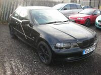BMW 3 SERIES 1.8 316TI SE 3d 114 BHP COMPACT 1 previous owner - (black) 2003