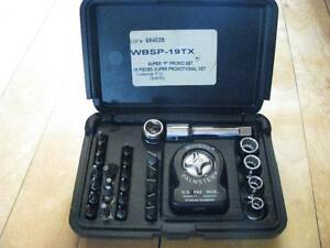 Williams Super Palmster Kit # WBSP-19TX / 29 Pcs , 3/8 Dr.