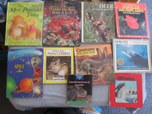 large lot of Children's Books & puzzles FOr Sale ( +-50 books)