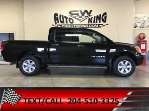 2011 Nissan Titan Low Kms / 4x4 / Crew Cab / Financing Available