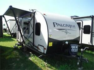 2017 Palomini 160RB Ultra Lite Travel Trailer- Only 2921LBS!