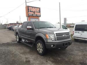 2011 Ford F-150 Platinum**4X4**LEATHER**NAVI***NO ACCIDENTS**