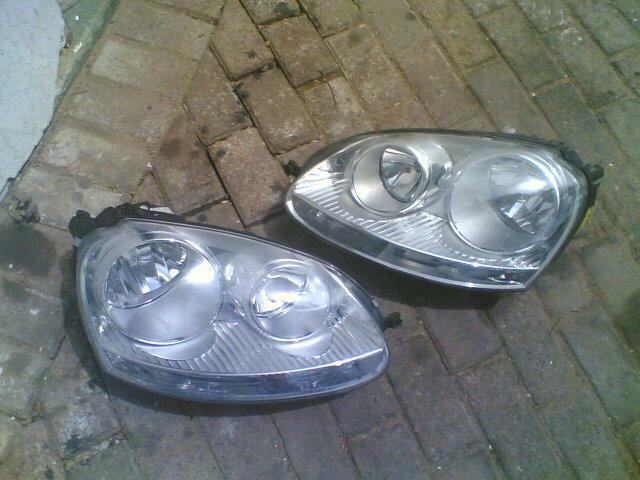vw golf 5 headlights