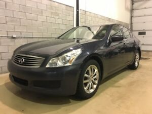 2009 INFINITI Berline G37 Luxury,, GARANTIE INCLUS