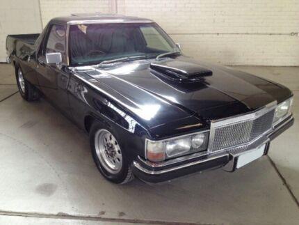 1974 Holden HQ Black 3-Speed Automatic 2 Door Ute 2WD