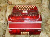 Paolo Soprani 3 voice club accordion in C/F
