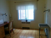 360$ furnished big room, available from October, for female