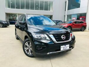2019 Nissan Pathfinder R52 Series III MY19 ST X-tronic 4WD Black 1 Speed Constant Variable Wagon Ravenhall Melton Area Preview