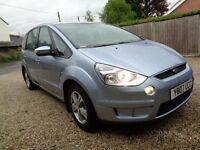** 2007 FORD S MAX TDCI ZETEC 7 SEATER USED DAILY BY MY WIFE NEW ONE ARRIVING MUST GO ASAP ***