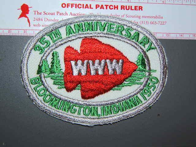 Boy Scout 1950 NOAC patch - repro 9008K