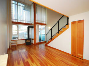 Beautiful 1 bedroom LOFT for rent in New Westminster Quay $1775