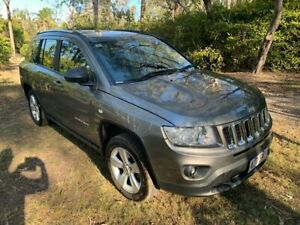 2013 Jeep Compass MK Sport Wagon 5dr CVT Auto Stick 6sp 2.0i [MY13] Grey Constant Variable Wagon Sheldon Brisbane South East Preview