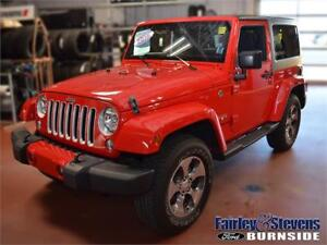 2016 Jeep Wrangler Sahara $263 Bi-Weekly OAC
