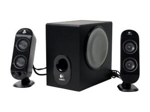 Logitech X-230 Speakers 2.1-channel speaker system or best offer