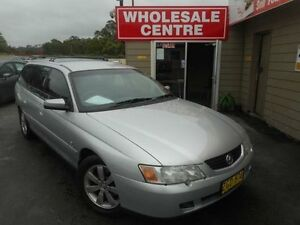 2004 Holden Commodore VY II Equipe Silver 4 Speed Automatic Wagon Edgeworth Lake Macquarie Area Preview