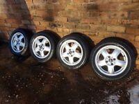 MINI Cooper alloy wheels WINTER TYRES