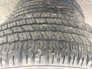 275/60R20 SUMMER TIRES EXCELLENT CONDITION
