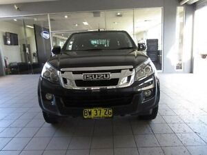 2013 Isuzu D-MAX TF MY12 LS-M HI-Ride (4x4) Cosmic Black 5 Speed Manual Crewcab Thornleigh Hornsby Area Preview