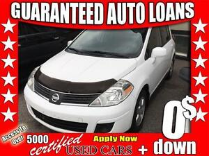 2008 Nissan Versa 1.8 S $0 Down - All Credit Accepted!