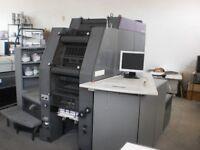 Heidelberg Quickmaster DI 46-4 4-Colour Lithographic Printing Press