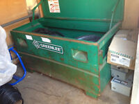 GREENLEE TOOL BOX WITH WHEEL KIT