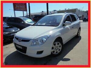 2009 Hyundai i30 FD MY09 SX White 4 Speed Automatic Wagon Holroyd Parramatta Area Preview