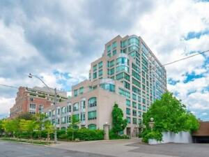 Renovated Yorkville 1 bed + den condo for rent (942 Yonge St)