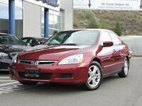 2006 Honda Accord SE | Low KM | Sunroof | Local Vehicle | No Acc