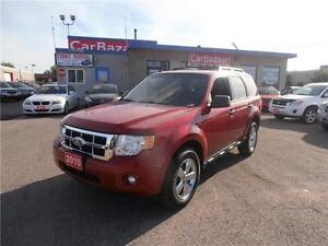 2010 Ford Escape XLT 4 CYL SUNROOF CHROME RIMS LOW FINANCE