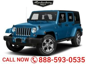 2017 Jeep Wrangler Unlimited 4X4 UNLIMITED SAHARA