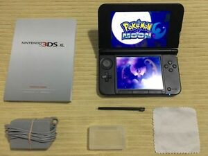 Blue 3DS.XL_With 3DS Games_Pokemon SUN & MOON & More ...