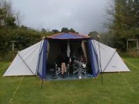 Family Tent - Sunncamp APS 6000 large frame tent