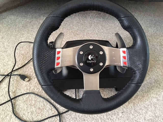 bbafb9960b6 Logitech G27 USB wheel (wheel only - no shifter or pedals) | in ...