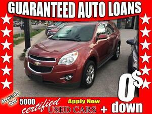 2011 Chevrolet Equinox 1LT $0 Down - All Credit Accepted!