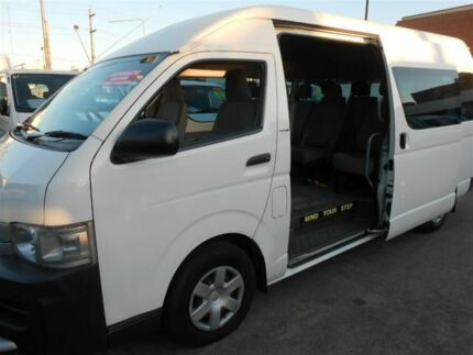 2009 Toyota Hiace KDH223R MY07 Upgrade Commuter White 4 Speed Automatic Bus Clyde Parramatta Area Preview