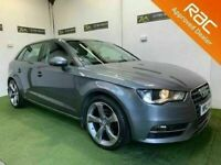 Late 2014 Audi A3 2.0 TDI SE 150BHP Sportback ** Finance & Warranty** (1series,golf,leon)